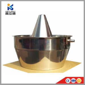 Té de acero inoxidable de 10 litros de aceite esencial de la unidad de filtro de vapor de la máquina de extracción de aceite de rosa