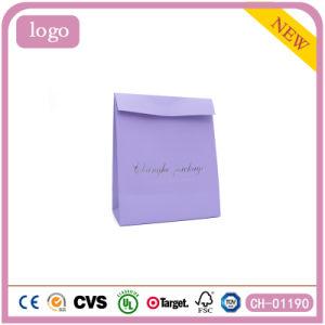 자주색 사랑스러운 포일 우표 아름다운 선물 음식 장난감 종이 봉지