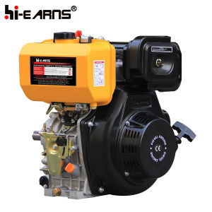 Dieselmotor met de Filter van de Lucht van het Bad van de Nokkenas en van de Olie (HR188FASE)