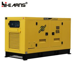 De met water gekoelde Diesel Stille Luifel van de Generator (GF2-90kVA)