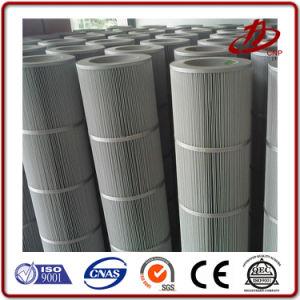Filtro de Cartucho Industrial Precio colector de polvo de la bolsa de filtro de pliegues