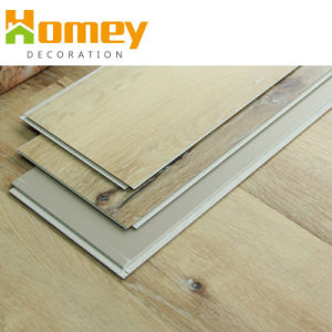 Couleur Simple Traitement de surface de l'utilisation intérieure de revêtements de sol PVC