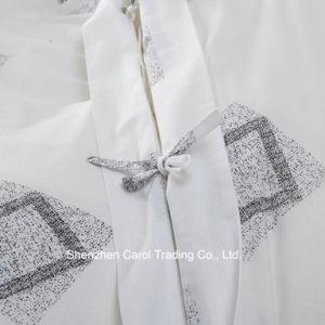 Impressão Ractive roupa de cama de algodão da cama do hotel