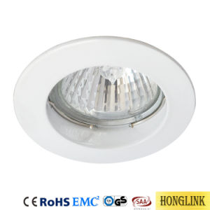 Örtlich festgelegte GU10/MR16 vertiefte Decke Downlight Vorrichtung LED Downlight