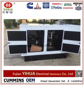 gerador Diesel silencioso do dossel 24kw/30kVA Soundproof com motor de Lovol (25-200kVA/20-160kw)