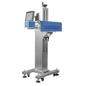 CO2 лазерная маркировка машины для резиновой