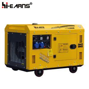 Van de Diesel van 8.0 KW Generator van het Gebruik van het Huis Reeks van de Generator de Draagbare (DG11000SE)