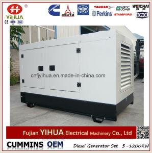 30kw 34kw 40kVA無声Fawde Xichaiのホーム使用のディーゼル発電機