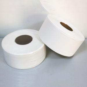 Usine de papier de toilette personnalisé 1 ply 20 GSM Rouleau de papier toilette Jumbo Papier hygiénique
