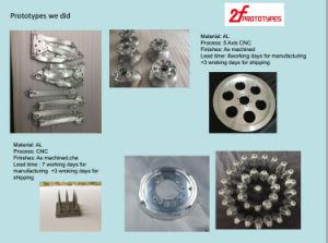 As peças da máquina de ABS, protótipo rápido personalizado com material ABS