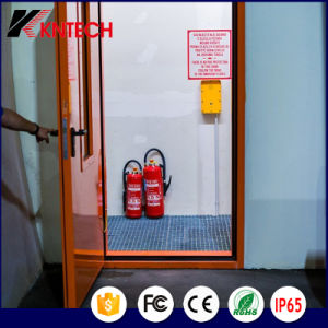 공장 철도 옥외 IP 전화 Knzd-09A는 전화를 방수 처리한다