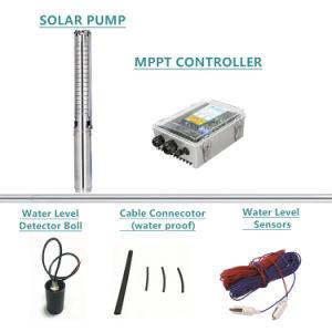 4 Chinses Solar centrífugas bombas para riego de jardín
