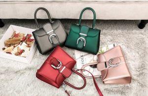 Twilly 스카프 (XP1067)를 가진 Handbags 색깔 사탕 묵 Beachkin 주문을 받아서 만들어진 숙녀