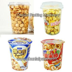 Taza de copos de maíz Máquina de Llenado y Sellado