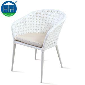Design moderno e pátio Alum. Piscina Jardim de vime Vime Cadeira de jantar