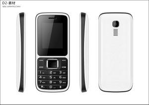 2017 Hete Verkopende Telefoon 1.8 van de Functie GSM van de Duim OEM/ODM Dubbele Eigenschap SIM Mobiele Telefoon A20