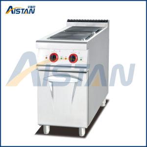 Eh777b Electric 2 plaque chaude avec le Cabinet (ronde)