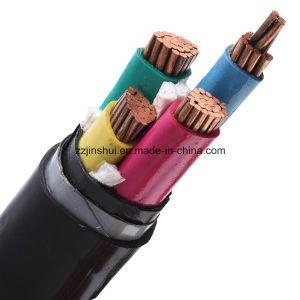 Núcleo de condutores de alumínio PVC ou PE 400mm da bainha do cabo de alimentação