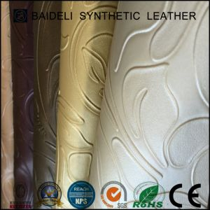 Тисненые ПВХ синтетическая кожа для диван