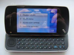 Telefono mobile di WiFi dello scorrevole N97