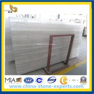 Serpeggiante, Athens Grey, Chenille White Wood Grain Marble Slabs