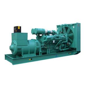 60Hz refroidi par eau 1600kVA Groupe électrogène Diesel