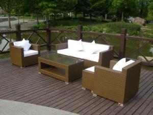 Sofà del rattan Furniture/Outdoor Furniture/Rattan (GET-073)