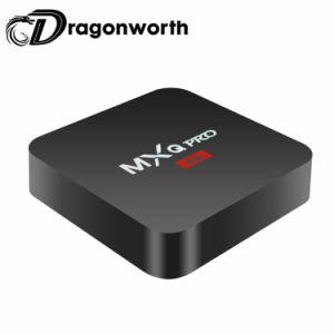 HD Film Fernsehapparat-Kasten freier überwachender Phasen-PROS905W 1GB 8GB gesetzter Spitzenkasten Fernsehapparat-Mxq mit 1080P vollem HD Vierradantriebwagen-Kern und WiFi Funktion