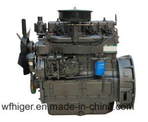 Vier Cyinders Hoge snelheid 3000rpm 60kw Dieselmotor voor Het Gebruik van de Brandbestrijding