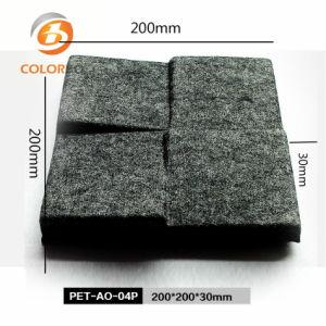 Product van het Huisdier van de geluidsisolatie 3D Dwars