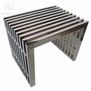 Nuevo著レプリカのステンレス鋼のAmiciのベンチ