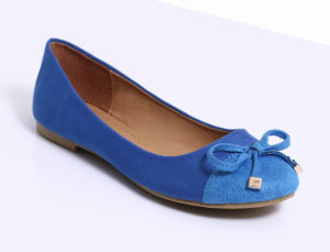 Nouvelle conception Lady Casual Talon plat ballerine chaussures pour femmes