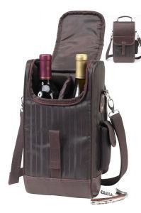 Sac du refroidisseur d'isolement du vin rouge Le déjeuner pique-nique Pack sac isotherme thermique