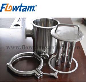 De sanitaire Filter van de Pijp van het Roestvrij staal Magnetische