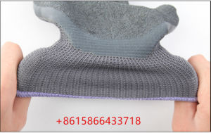 ポリエステル乳液によって塗られる働く手袋のスリップ防止切口の摩耗抵抗の安全手袋