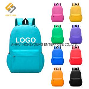 Venda Personalizada de poliéster mochila promocional para os meninos, meninas com logotipo