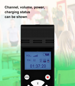 2.4GHzデジタルの無線マイクロフォン及びスピーカー