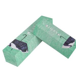 주문을 받아서 만들어진 녹색에 의하여 인쇄되는 뚜껑 떨어져 종이 우산 선물 수송용 포장 상자