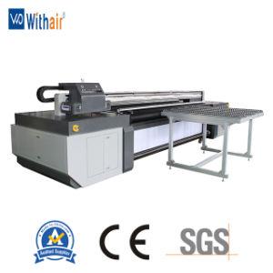 Цифровой гибридный УФ планшетный принтер для струйной печати Сублимация рулона в рулон УФ-принтер