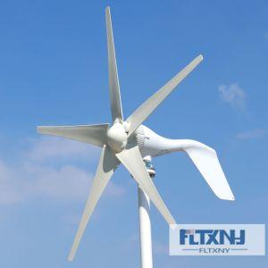 刃の/5の3つの刃の街灯の庭の照明ホーム使用を用いるより安い400W風発電機12V 24Vの風力