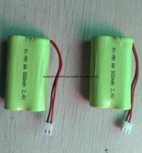 태양 빛을%s Ni MH AA 재충전 전지 Pack12V 2300mAh