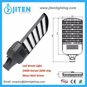 Iluminação de exterior da carcaça de alumínio pesado 240W Streetlight LED