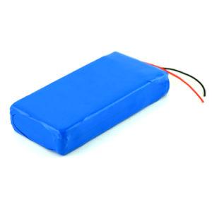 Nachladbarer Lipo 2s1p Lithiumli-Ionenplastik-Batterie-Satz 7.4V 10ah