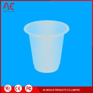 Sorvete de plástico do molde de injeção de copos de iogurte