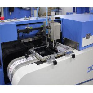 기계를 인쇄하는 자동적인 스크린이 소형 고열 의복에 의하여 레테르를 붙인다