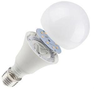 China lâmpada LED grossista 5W/7W/9W/12W a lâmpada da luz de LED de alumínio