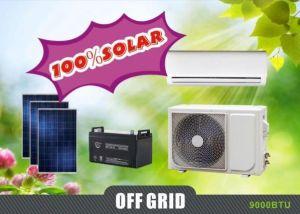 9000BTU 100% angeschaltener Solargleichstrom 48V spaltete Solarklimaanlage auf