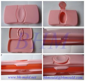 Caixa de Tecido plástico do molde de injeção