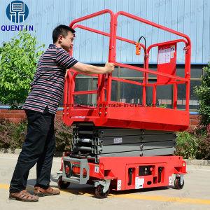 중국 자기 추진 이동할 수 있는 배터리 전원을 사용하는 상승 테이블 플래트홈을 가위로 자른다