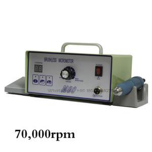 Портативный стоматологическое оборудование Лаборатории Handpiece Микродвигатель 70000об/мин бесщеточный шлифовальный инструмент
